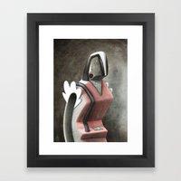 Static Framed Art Print