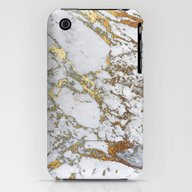 Gold Marble iPhone (3g, 3gs) Slim Case