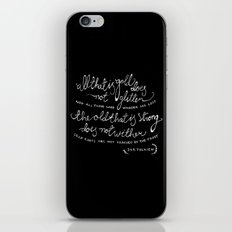 all that is gold iPhone & iPod Skin