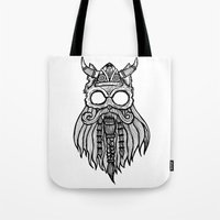 Viking Cat Tote Bag