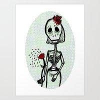 Love And Bones Art Print