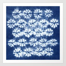 Shibori two Art Print