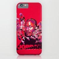 Michael Jordan NBA Illustration serie iPhone 6 Slim Case