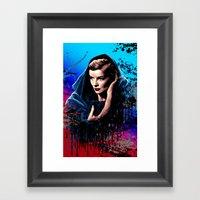 Katharine Hepburn, 60 Ye… Framed Art Print