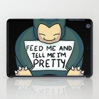 Feed Me Snrlx iPad Case