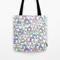 Penguin Snuggles Tote Bag