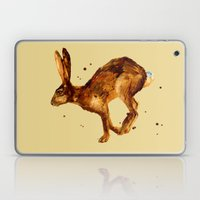 Hare, hare cushion, rabbit pillow Laptop & iPad Skin