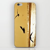 Golden Sea iPhone & iPod Skin