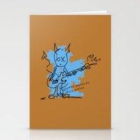 BLUE DEVIL Stationery Cards