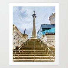 The CN Tower Art Print