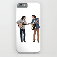 iPhone & iPod Case featuring The Avett Brothers by Derek Donovan