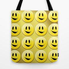 Smiley Smileys! Tote Bag