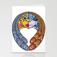 Atomos, The Indivisible Stationery Cards