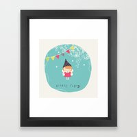 Little Fairy Framed Art Print