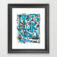 Incognito Framed Art Print