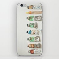Oil Paints iPhone & iPod Skin