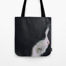 Portrait of a Cat Tote Bag