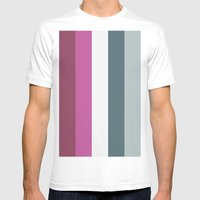 Color Set Mens Fitted Tee White SMALL