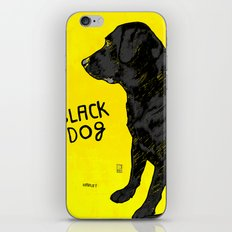 Black Dog iPhone & iPod Skin
