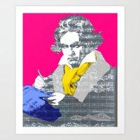 Ludwig Van Beethoven 6 Art Print