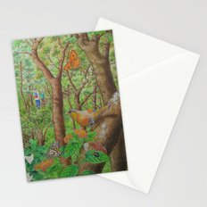 A Day of Forest (1). (walk into the forest) Stationery Cards