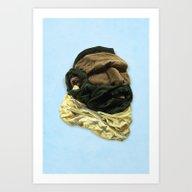 Mr. Tee Art Print