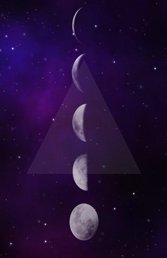 Moon Down Art Print