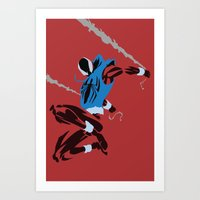 Spider-Man - Scarlet Spider Art Print