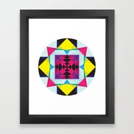 Framed Art Print featuring Inner Dancing by Anai Greog