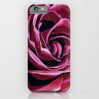 iPhone & iPod Case featuring Rose Sketch by Stephen Linhart