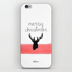 Christmas time - Deer edition iPhone & iPod Skin