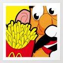 SLOH - Cannibalism Art Print