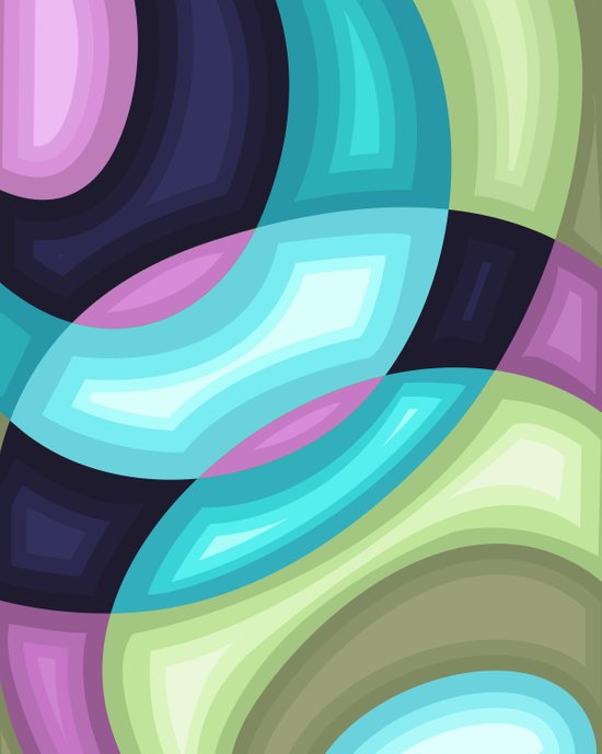 Abstraction 1 Art Print