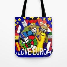 Monsieur Jac & Lily love Europe Tote Bag