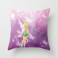 TinkleBell Throw Pillow