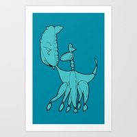 The Coming Of Going Art Print