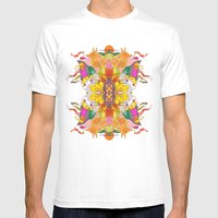 Free Psych And Mirrors -… Mens Fitted Tee White SMALL