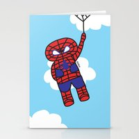 Superheros Stationery Cards