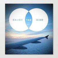 Enjoy The Ride  Canvas Print