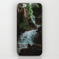 Alaska Waterfall iPhone & iPod Skin