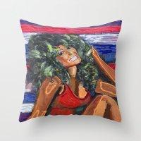 Farrah Throw Pillow