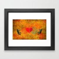 Rejected Love Framed Art Print