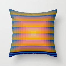 GradientGlitch v.1 Throw Pillow