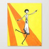 Eloise Is Walking On Sun… Canvas Print