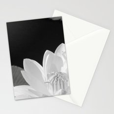 Black & White Lilypad Stationery Cards