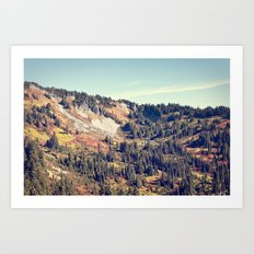 Fall Mountain Art Print