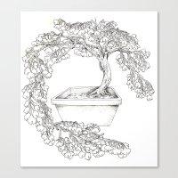 Ginkgo Tree Canvas Print