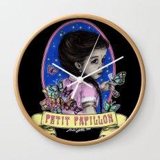 Ma Petite (color) Wall Clock