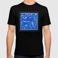 FERN Mens Fitted Tee Black SMALL