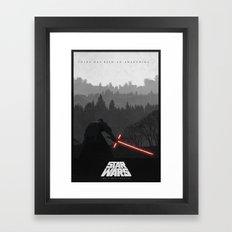 Episode VII: The Force Awakens Framed Art Print